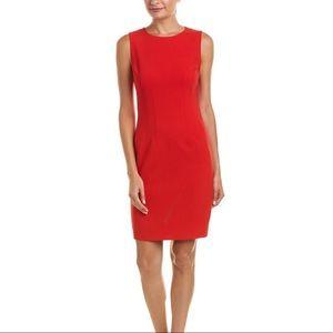 Elie Tahari Red Tera Dress